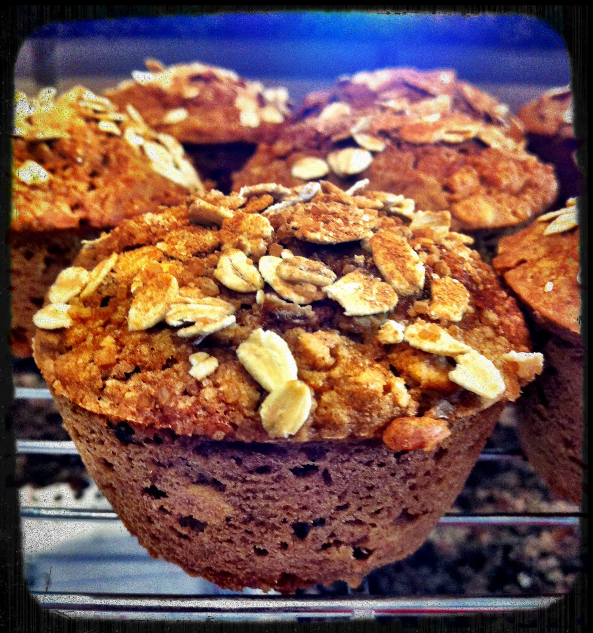 ... Raisin Oatmeal Muffin Recipe. Vegan, Oil-Free, Low-Fat, Wheat-Free