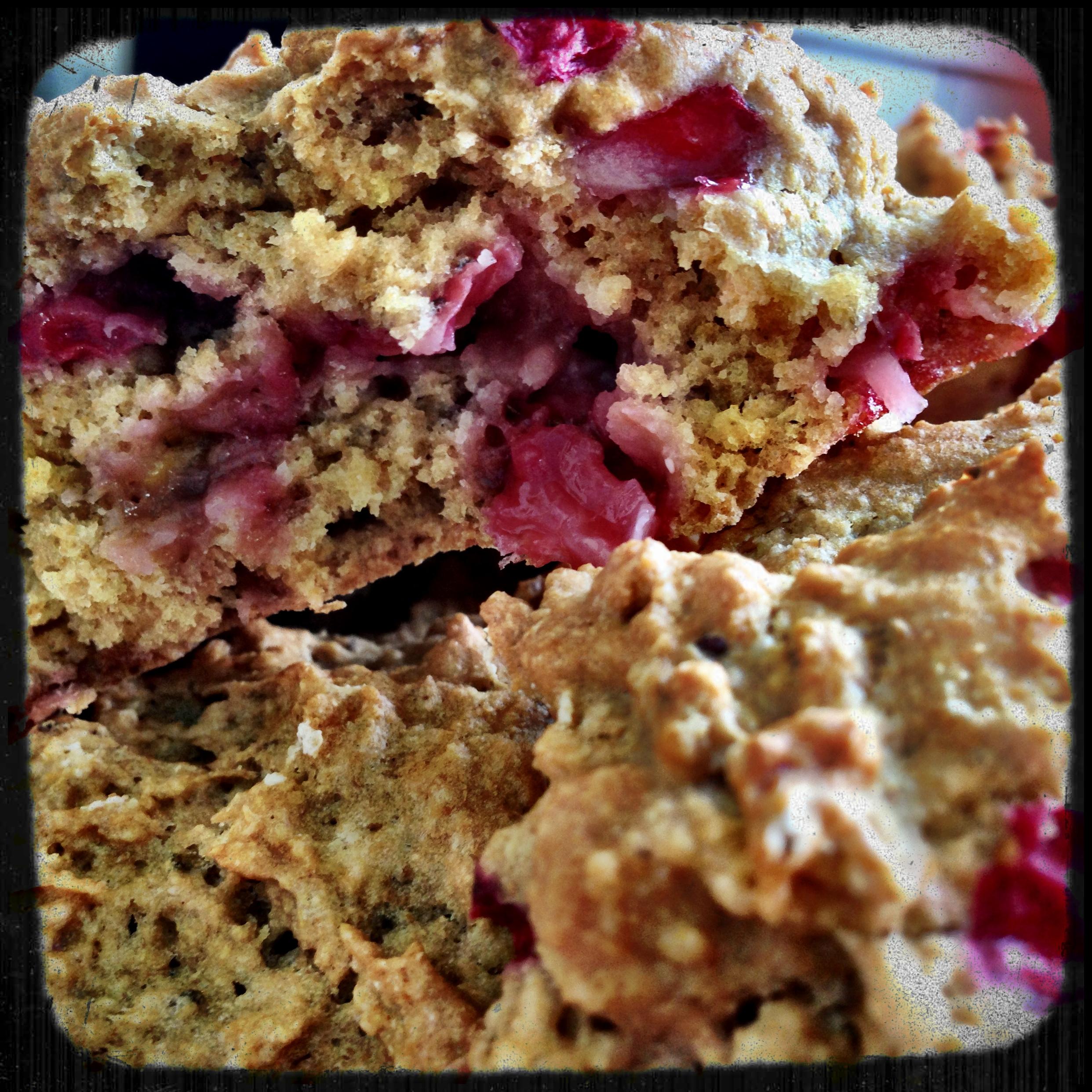 Whole Grain Strawberry Scones (vegan, low-fat)   Plantiful ...