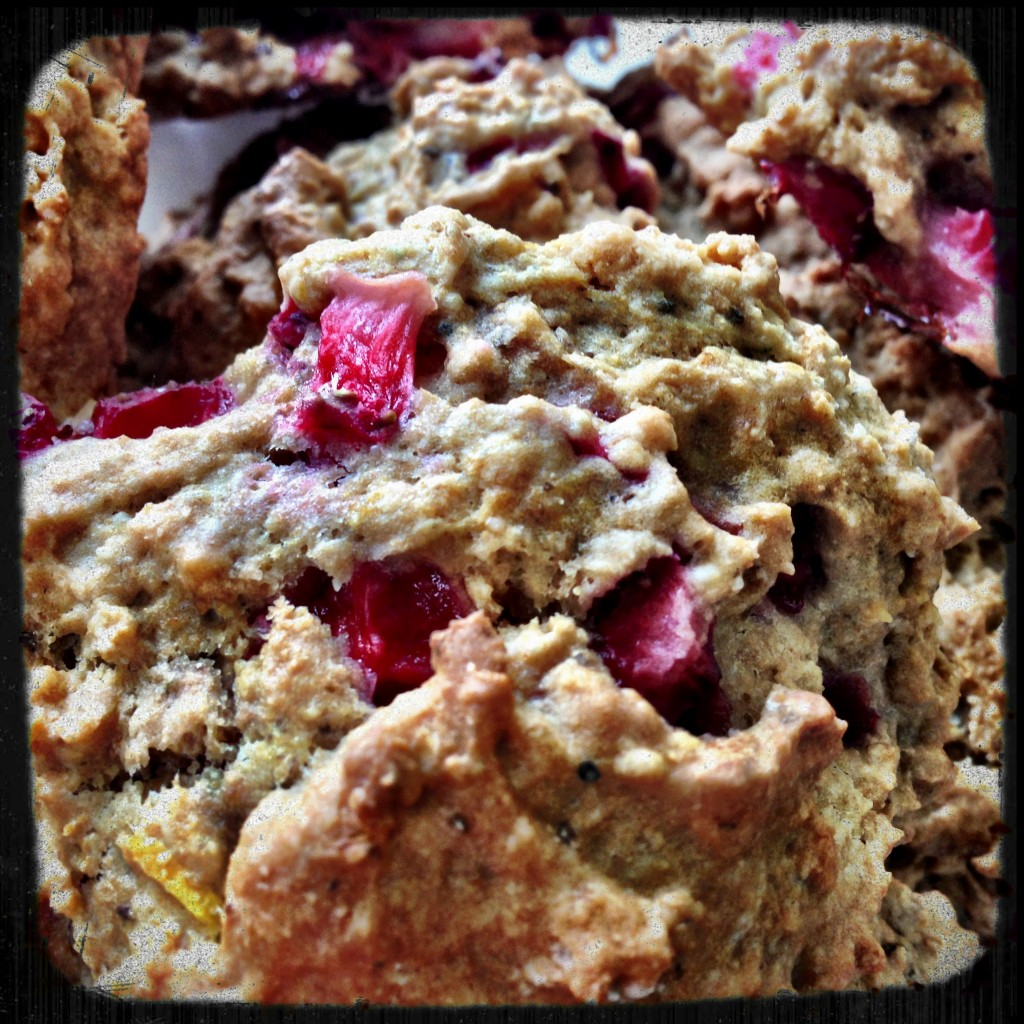 Strawberry-Sour Cream Scones With Brown Sugar Crumble ...